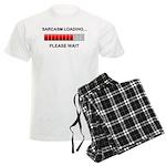 Sarcasm Loading Men's Light Pajamas