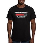 Sarcasm Loading Men's Fitted T-Shirt (dark)