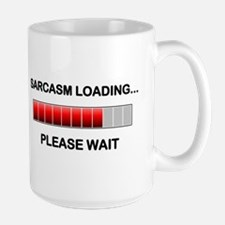 Sarcasm Loading Coffee Mug