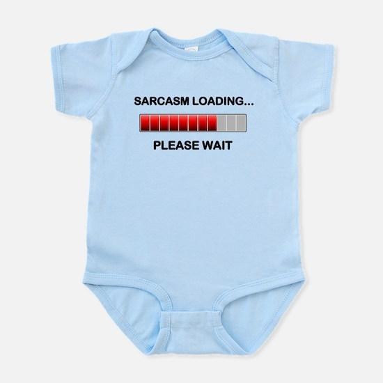 Sarcasm Loading Infant Bodysuit