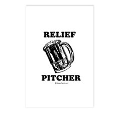 Relief pitcher -  Postcards (Package of 8)