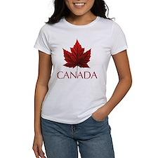 Women's Canada T-Shirt Canadian Souvenir Shirts