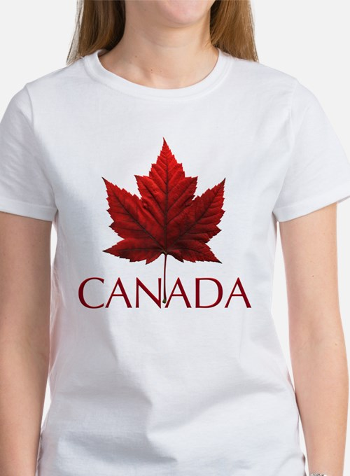 Canada souvenirs t shirts shirts tees custom canada for Personalized t shirts canada