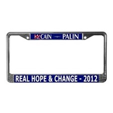 Funny Herman License Plate Frame