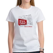 Obama's Fake Birth Certificate Tee