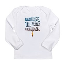 Astounding, Amazing and Unkno Long Sleeve Infant T