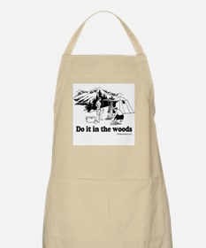 Do it in the woods -  BBQ Apron