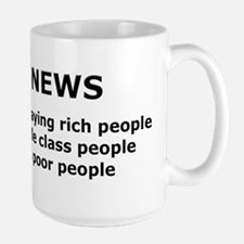 FOX NEWS...Rich people paying rich people... Mug
