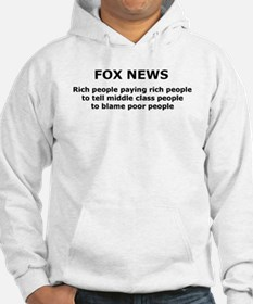 FOX NEWS...Rich people paying rich people... Hoode