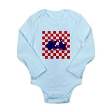 Mod Scooter Long Sleeve Infant Bodysuit