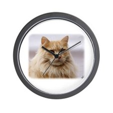 Maine Coon Cat 9Y825D-145 Wall Clock