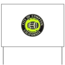 Compton City Seal Yard Sign