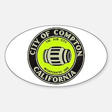 Compton City Seal Decal
