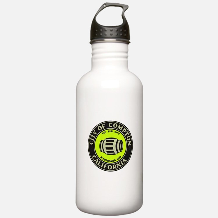 Compton City Seal Water Bottle