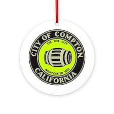 Compton City Seal Ornament (Round)