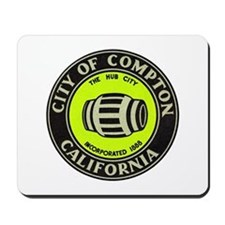 Compton City Seal Mousepad