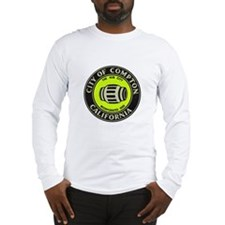 Compton City Seal Long Sleeve T-Shirt