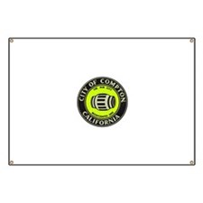 Compton City Seal Banner