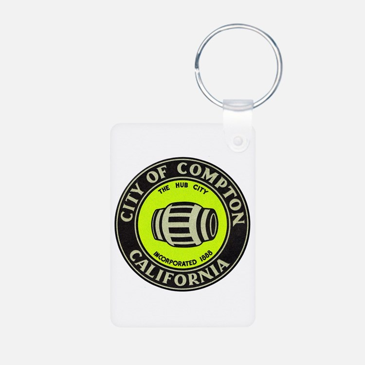 Compton City Seal Keychains