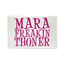 mara-freakin-thoner Rectangle Magnet