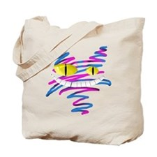 Silly Cheshire Cat Tote Bag