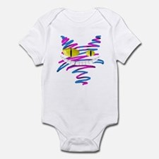 Silly Cheshire Cat Infant Bodysuit