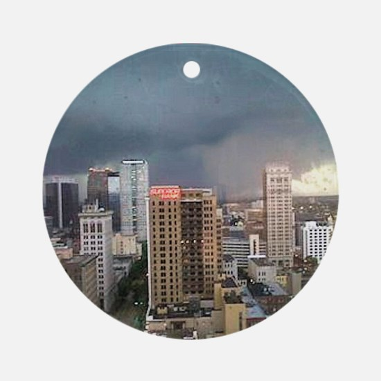 Alabama Tornadoes Ornament (Round)