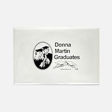 Donna Martin graduates Rectangle Magnet