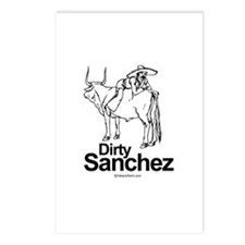 Dirty Sanchez -  Postcards (Package of 8)