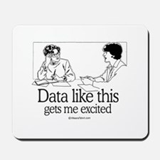 Data like this gets me excited -  Mousepad
