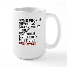 bukowski quote Mug