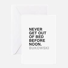 bukowski quote Greeting Card
