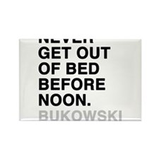 bukowski quote Rectangle Magnet