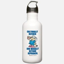 Culturally refined, and moral Water Bottle