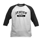 Jewish Girl Kids Baseball Jersey