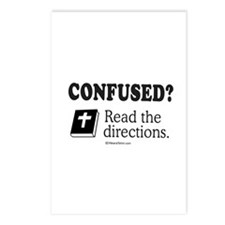 Confused? Read the directions -  Postcards (Packag