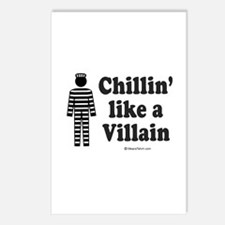 Chillin' like a villain -  Postcards (Package of 8