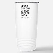 bukowski quote Travel Mug