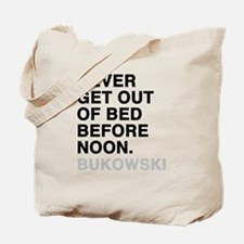 bukowski quote Tote Bag