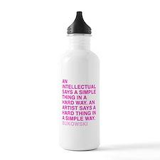 bukowski quote Water Bottle