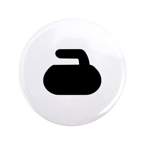 "Curling 3.5"" Button (100 pack)"