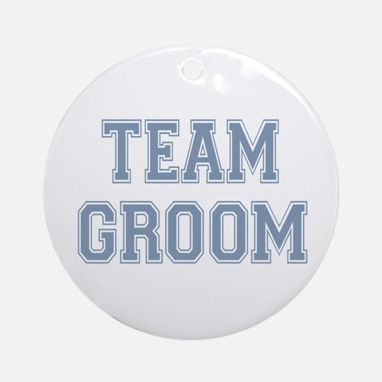Team Groon Ornament (Round)