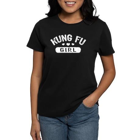 Kung Fu Girl Women's Dark T-Shirt