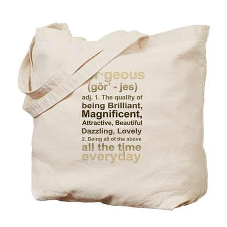 Gorgeous Gold Tote Bag
