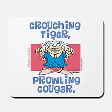 Crouching Tiger, Prowling Cou Mousepad
