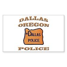 Dallas Oregon Police Decal