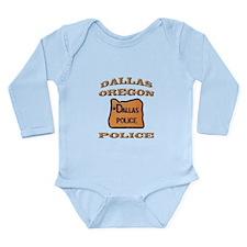 Dallas Oregon Police Long Sleeve Infant Bodysuit