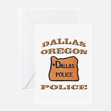 Dallas Oregon Police Greeting Card