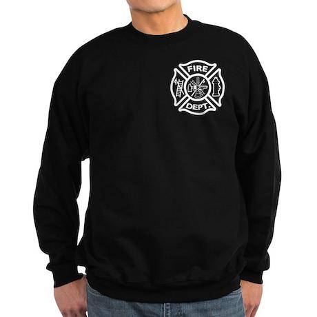 Fire Department / Fire Rescue Logo Sweatshirt (dar