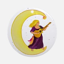 Moonlight Gypsy C Ornament (Round)